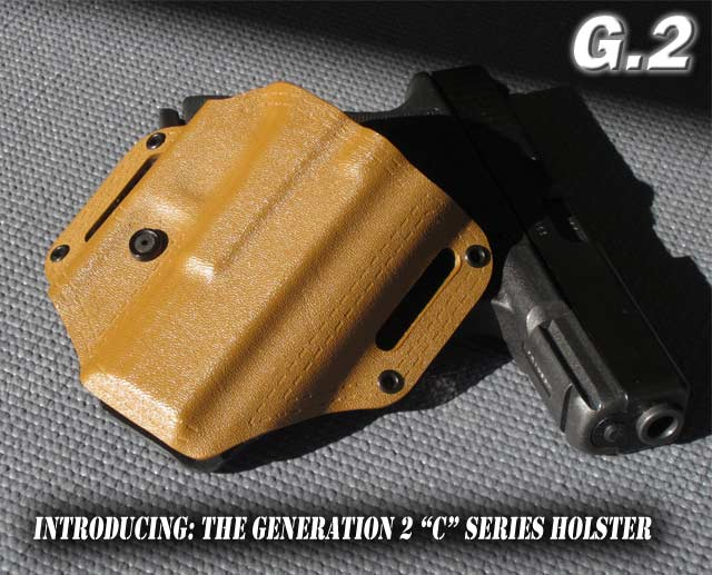 Glock Kydex Comcealment Belt Holster